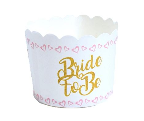 גביעי מאפינס BRIDE TO BE