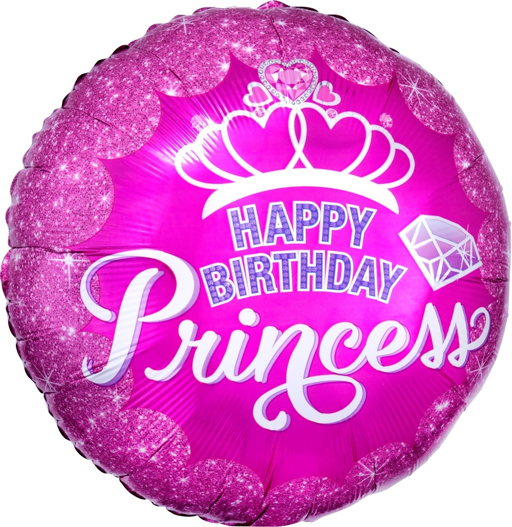 בלון Happy Birthday Princess